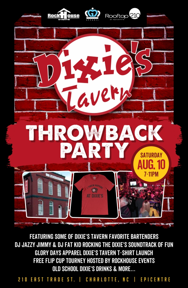 Dixie's Tavern Throwback Party