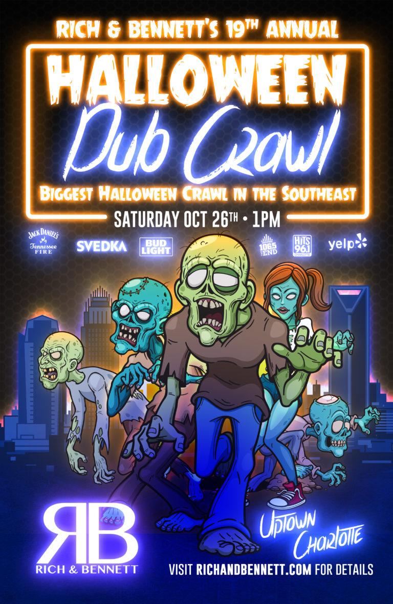 Rich & Bennett's 19th Annual Halloween Pub Crawl