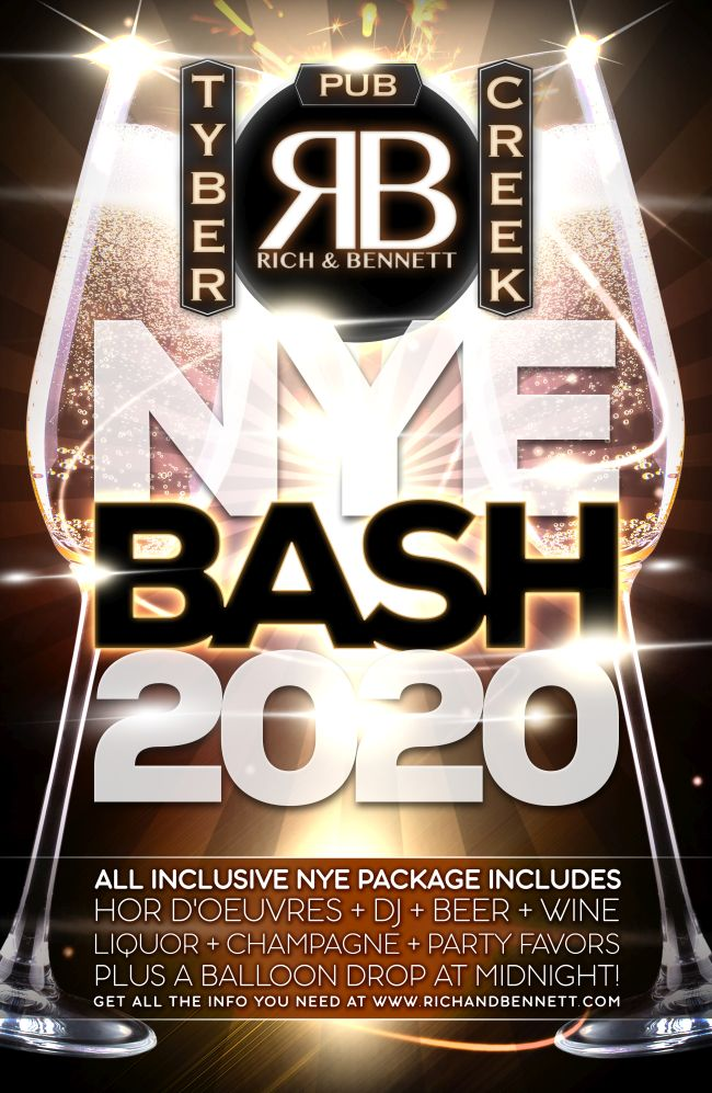 Rich and Bennett's NYE Bash 2020